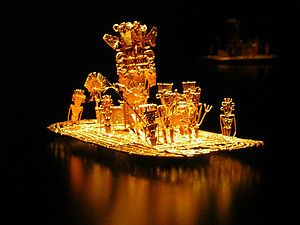 300px-Muisca_raft_Legend_of_El_Dorado_Offerings_of_gold